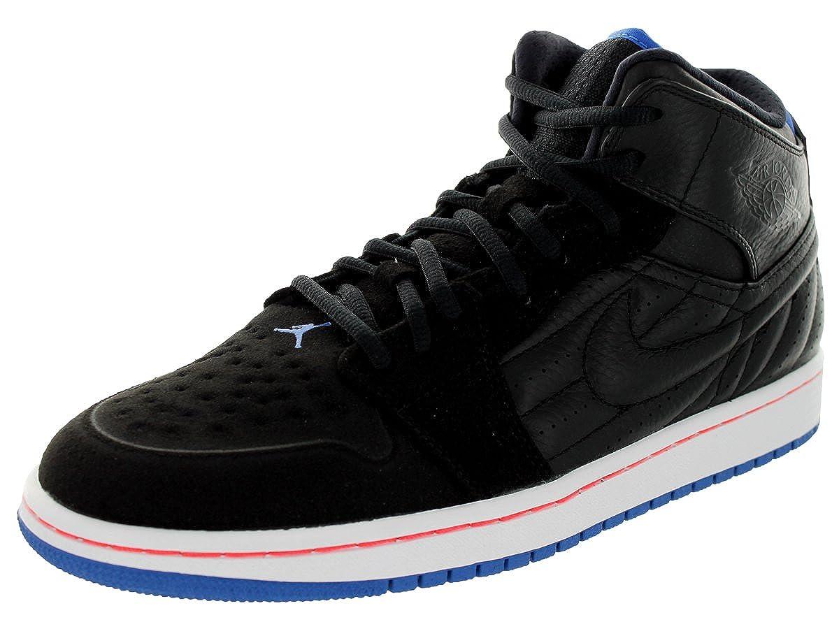 5915931f442 Amazon.com | [654140-007] AIR Jordan AIR Jordan 1 Retro 99 Mens Sneakers AIR  JORDANBLACK/SPRT BL-Infrrd 23-White | Fashion Sneakers