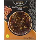 Corona Blanca Date and Walnuts Bread Cake 7.05 oz (200 gr) (Pack of