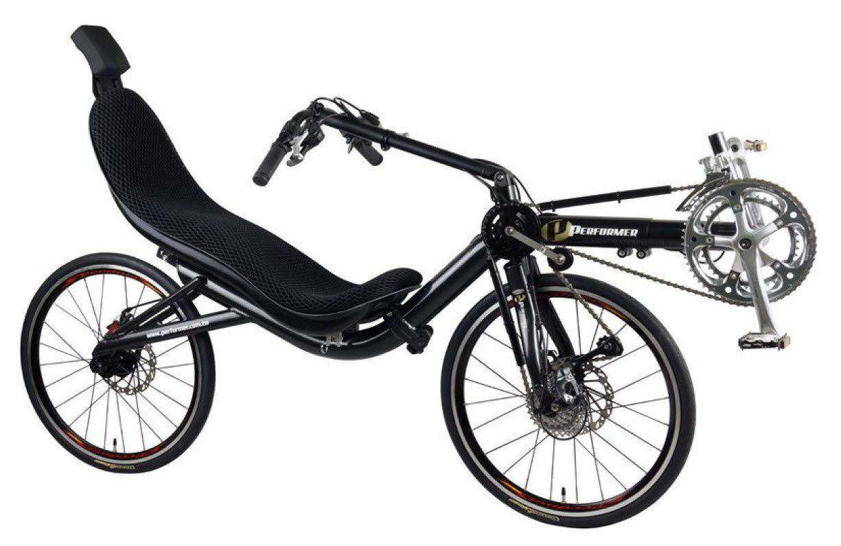 Performer Folding Front Wheel Drive Recumbent Bike (Tiagra 20)