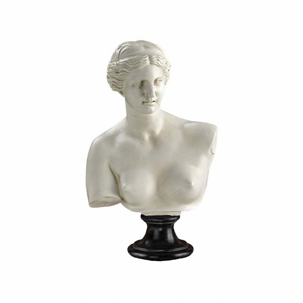 Design Toscano Venus de Milo (2nd Century B.C.) Bust Statue EU15816