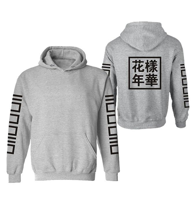 Haililais BTS Sudaderas con Capucha Hombres Suéter Estampados Sweater Casuales Sudaderas Deportivo Sudaderas Personalizadas: Amazon.es: Ropa y accesorios