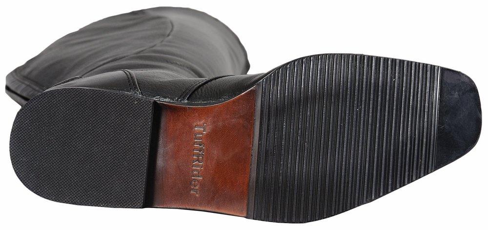 TuffRider Ladies Regal Field Boots | Color - Black | Size - 7.5 | Shape - Regular by TuffRider