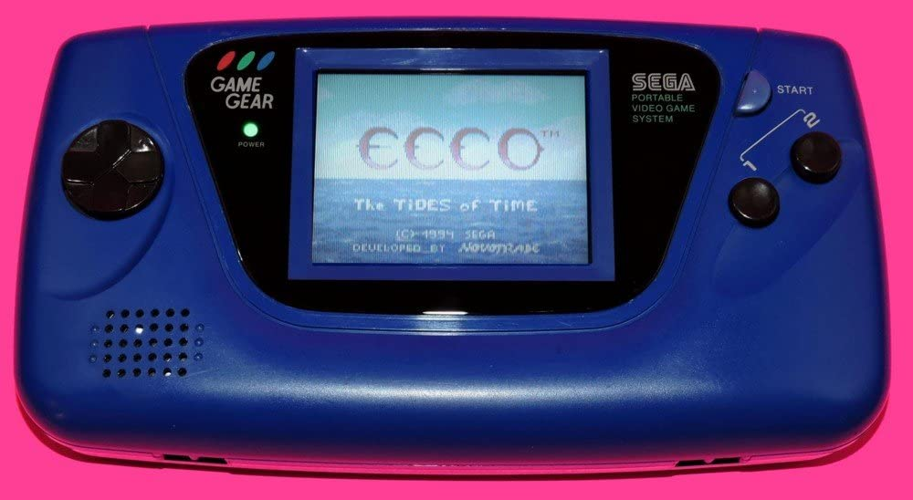 Blue Sega Game Gear