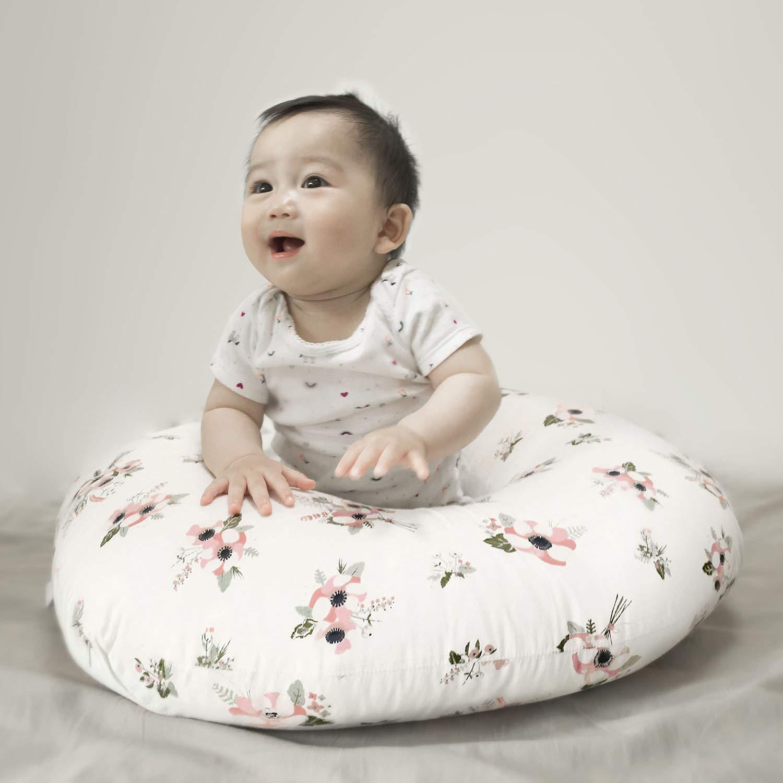 Amazon.com: Funda de almohada de lactancia de algodón ...
