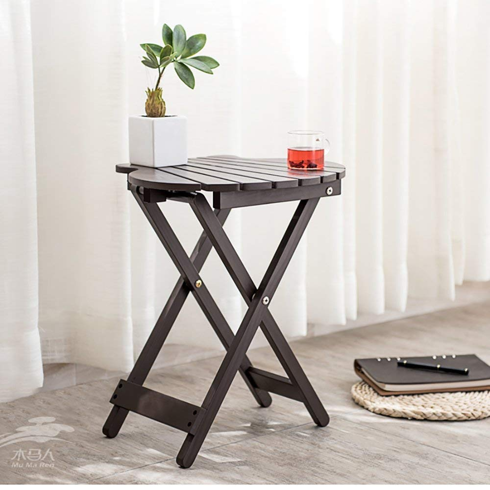 XQY Wall-Mounted Table, Creative Design Table,Folding Table Square Portable Dining Home Office Laptop Outdoor Side Table,Household Table,Coffee