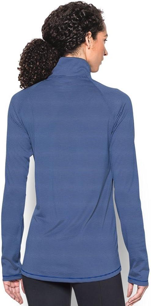 Under Armour UA Womens TECH Microstripe Zip Pullover 16F