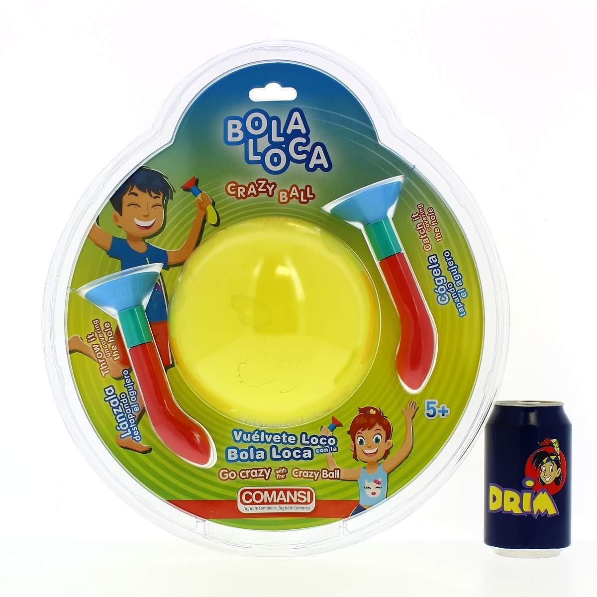 Comansi Bola Loca Amarilla: Amazon.es: Juguetes y juegos