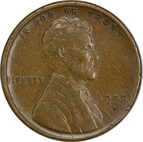 1909 S Lincoln Vdb Cent Ef Extra Fine At Amazon S Collectible Coins Store