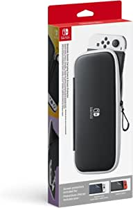 Carrying Case & Screen Protector (OLED) - Nintendo Switch