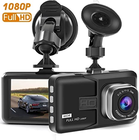 "3/"" Vehicle HD 1080P Car Dashboard DVR Camera Video Recorder Dash Cam G-Sensor UK"