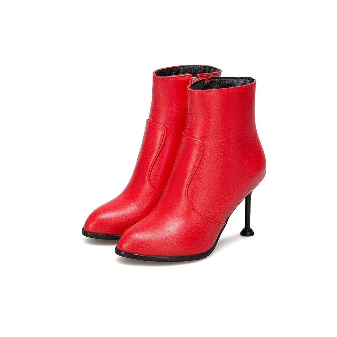 Don Stiefelsexy High Heel mit Winter NA   Kurze Modestiefel   große Damenstiefel