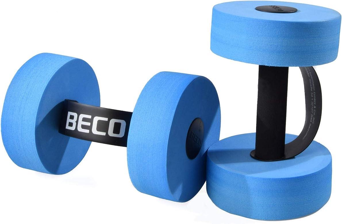 BECO Aqua - Mancuernas para uso acuático (2 unidades, tamaño ...