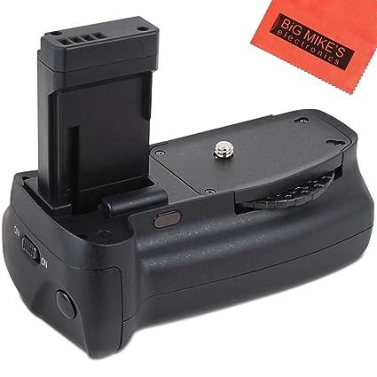Empuñadura de batería para Canon EOS 1100d, EOS Rebel T3, Rebel T5 ...