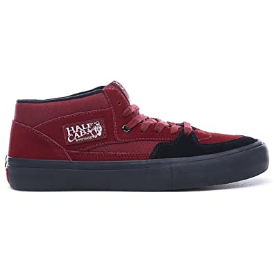 d12144238e6edc Vans Half Cab Pro Cabernet Black Black  Amazon.co.uk  Shoes   Bags