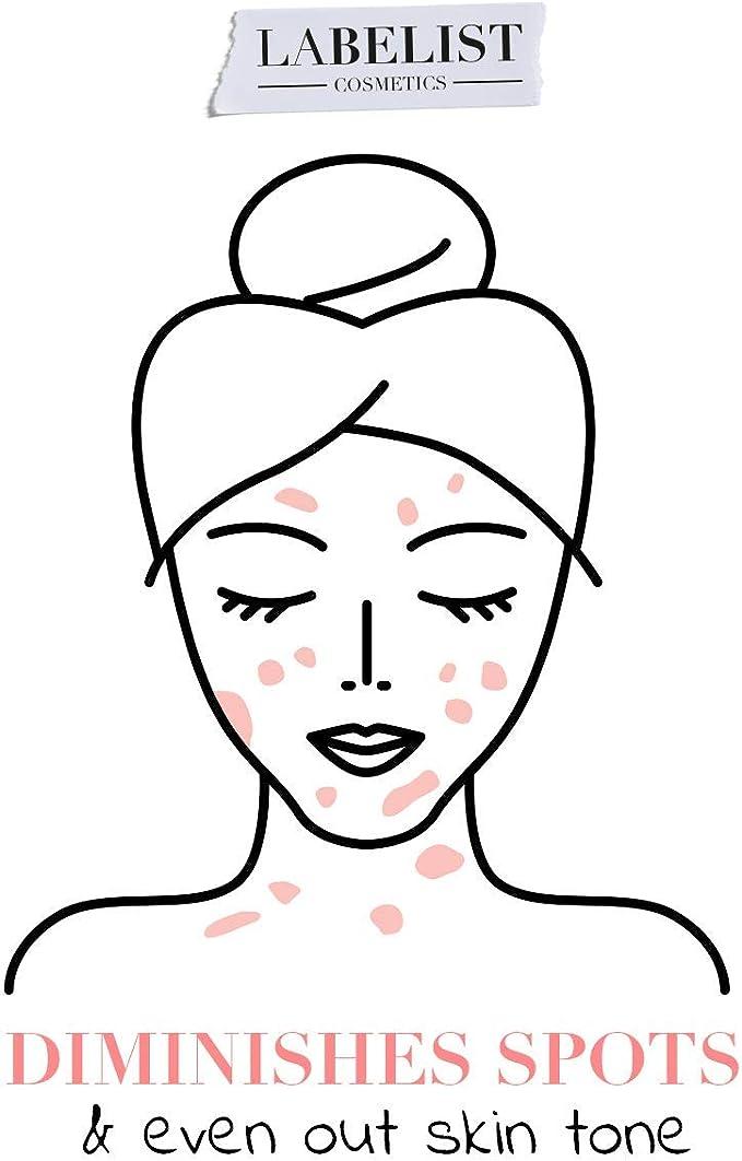 Labelist | Serum Facial Blur Elixir | 30 ml | Redución Manchas | Unifica el Tono | Minimiza los Poros | Niacinamida y Panthenol | Cuidado Facial Mujer ...