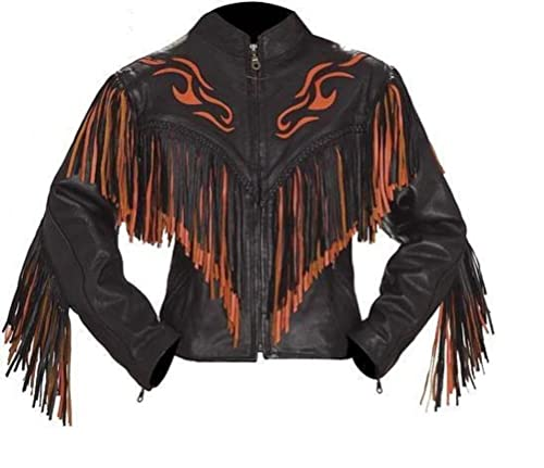 Western Leather Style - Chaqueta - para mujer negro negro