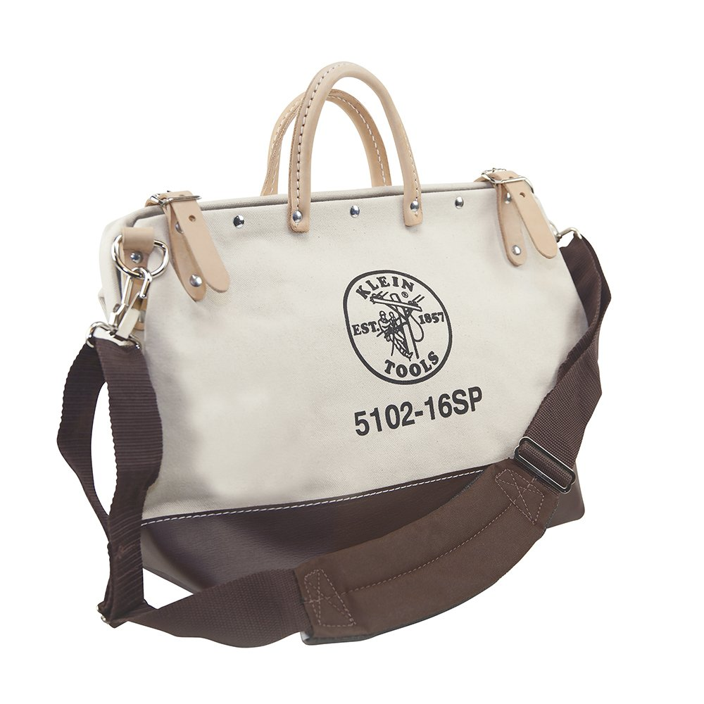 Deluxe Canvas Tool Bag, 16-Inch Klein Tools 5102-16SP