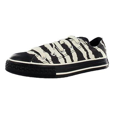Converse Chuck Taylor All Star Zebra Ox Kids Shoe: Shoes