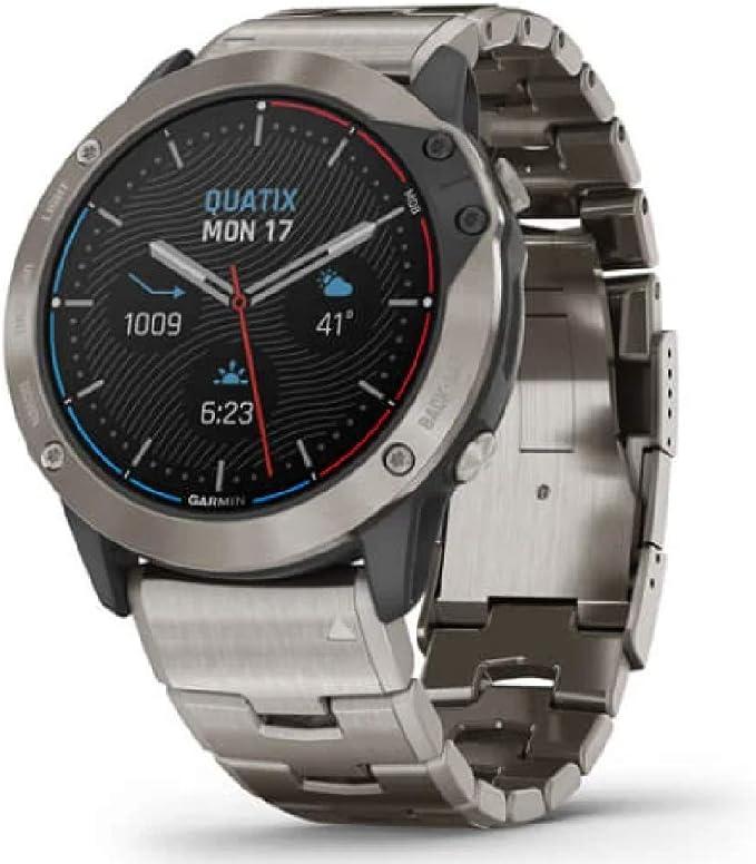 Armbanduhr Garmin Quatix 6x Solar 010 02157 31 Elektronik