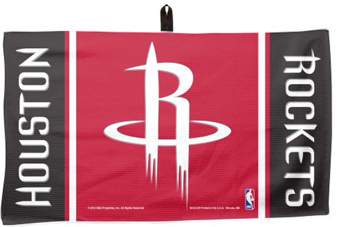 WinCraft NBA Houston Rockets Waffle Golf Towel, 14 x 24 inches