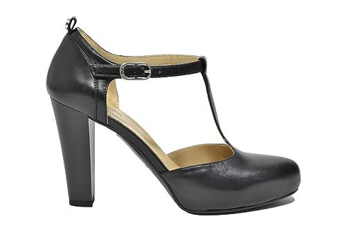 Nero Giardini Décolleté scarpe donna nero 9620 elegante A719620DE 39   Amazon.it  Scarpe e borse 922c1cb3c15