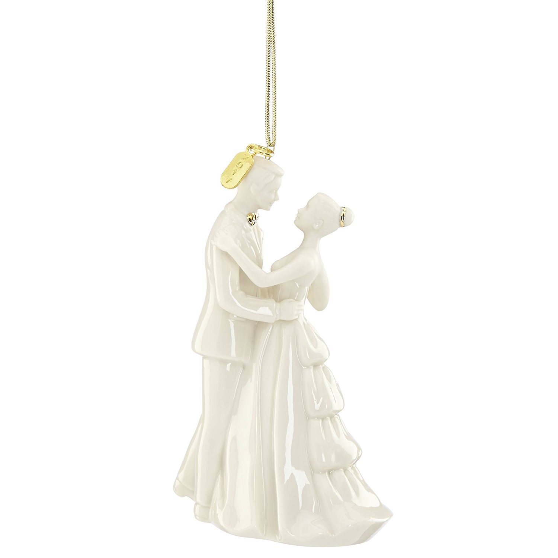 Lenox 2017 Wedding Bride Groom Ornament Always and Forever First Dance Waltz Christmas