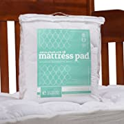 ExceptionalSheets Crib/Toddler Mattress Pad, Rayon from Bamboo