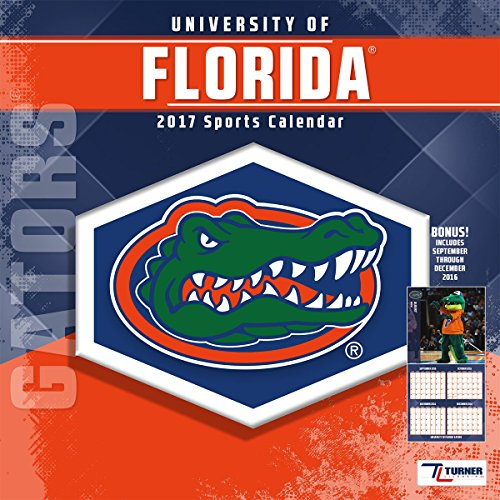 Turner Licensing Sport 2017 Florida Gators Mini Wall Calendar (17998040520)