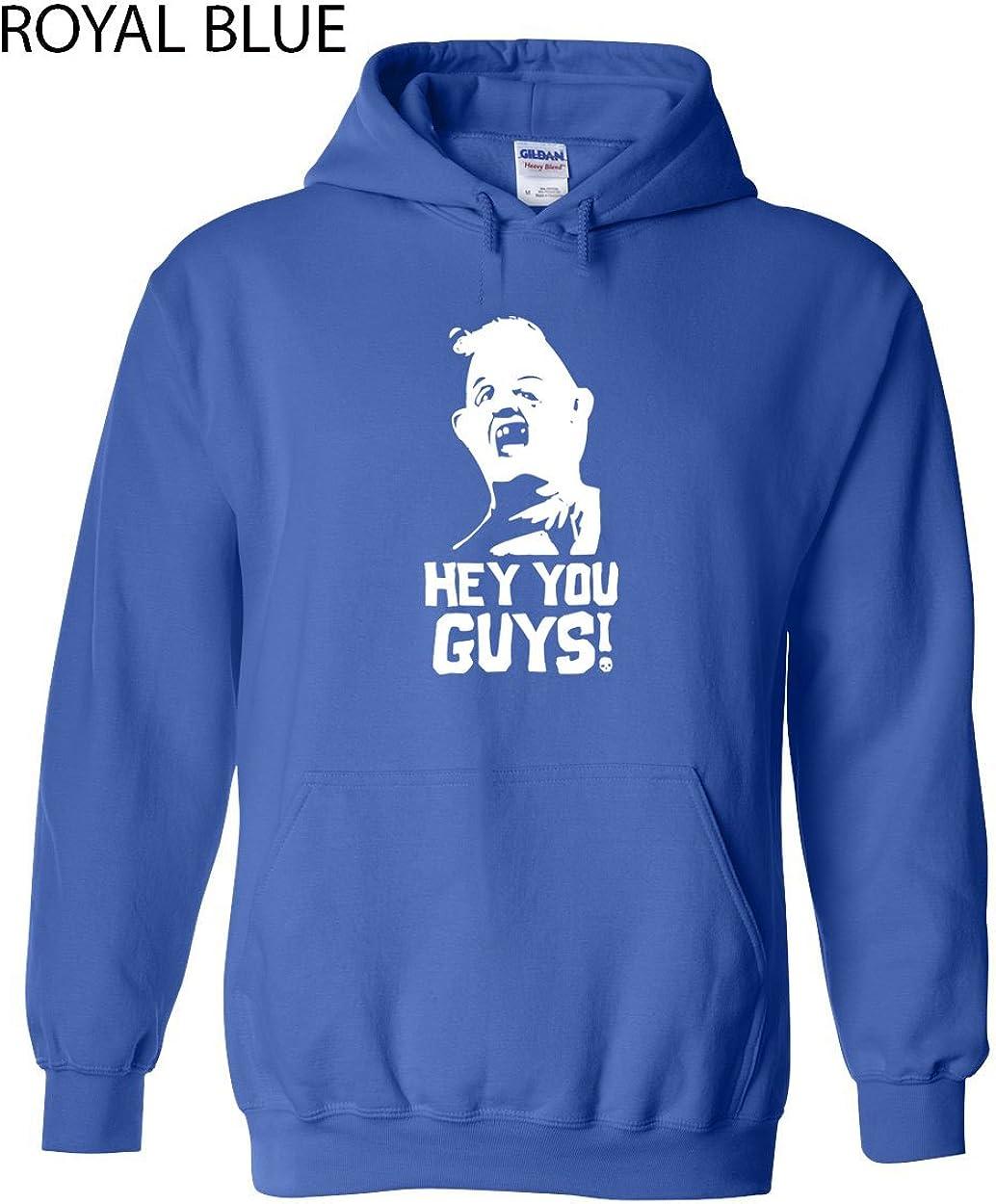 Swaffy Tees 233 Hey You Guys Adult Hooded Sweatshirt