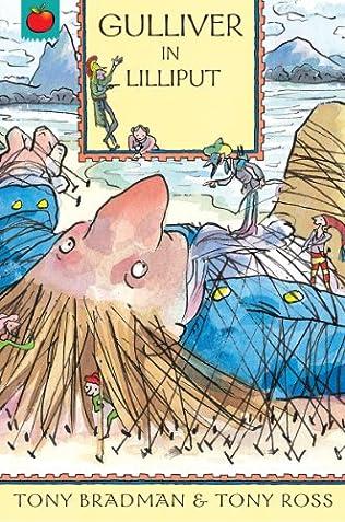book cover of Gulliver in Lilliput