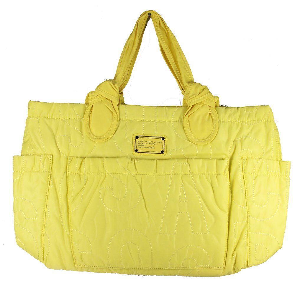 Marc by Marc Jacobs Women's Pretty Nylon Eliz-a-Baby Bag, Banana Creme, One Size