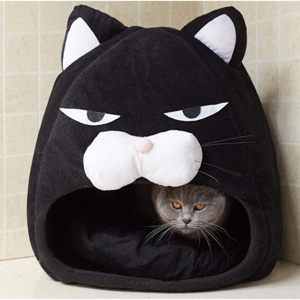 Funihut Casa de Juguete para Gato Cesta caseta para Gatos Fieltro - Abrigo para Gato Premium - Cojín Douillet y Juguete - para estantería Tipo IKEA o de ...