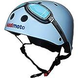 Kiddimoto - KMH 007/S - Vélo et Véhicule pour Enfant - Casque Blue Goggle - Small