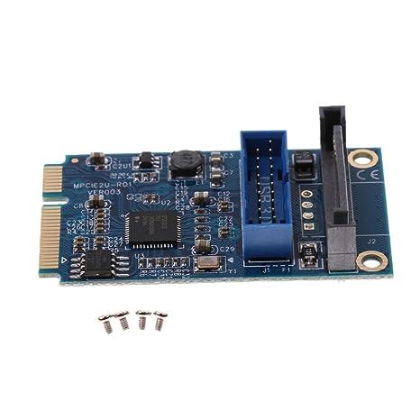 D DOLITY Mini PCI-Express PCI-e a USB 3.0 Adaptador de ...