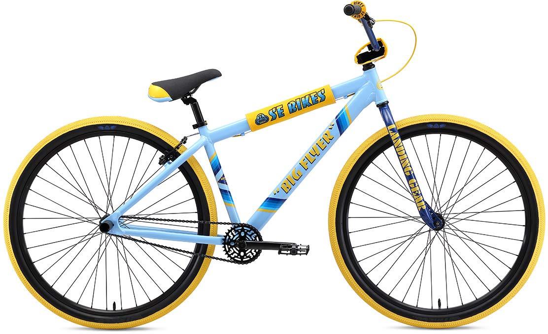 SE Big Flyer 29 BMX Bike SE Blue Mens Sz 29in