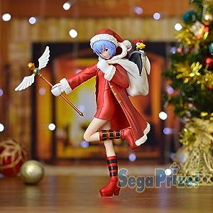 Sega Neon Genesis Evangelion: Rei Ayanami Premium Christmas Figure (Version 1.5)