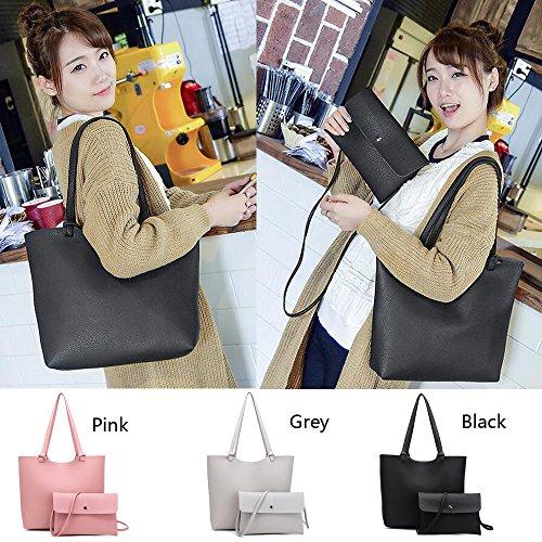 Grey de capacidad de Bolso mujer C Anne gran informal aFUC7q7Swx