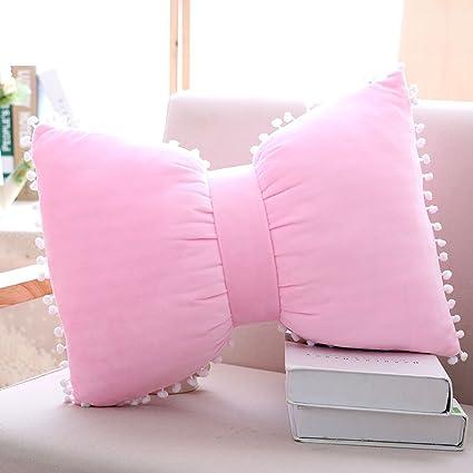 Amazon Shiny StoneDecorative Pillows Sweet Bowknots Pillow New Princess Decorative Pillows