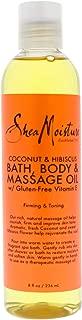 product image for SheaMoisture Coconut & Hibiscus Bath, Body & Massage Oil | 8 oz.