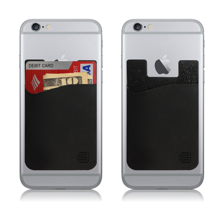 Amazon.com: CardBuddy Stick On Card Holder Wallet, Credit Card Phone ...