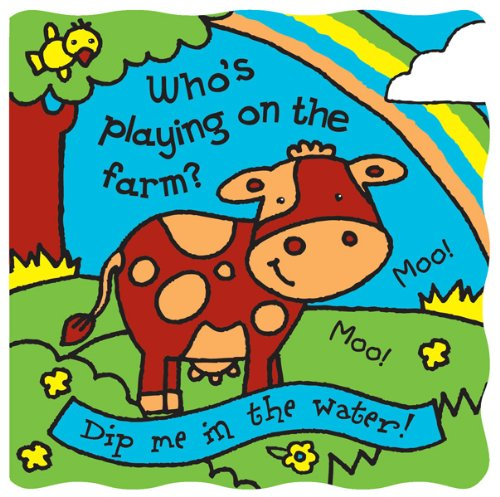 Animals Magic Picture Book (Who's Playing on the Farm? (Magic Bath Books))