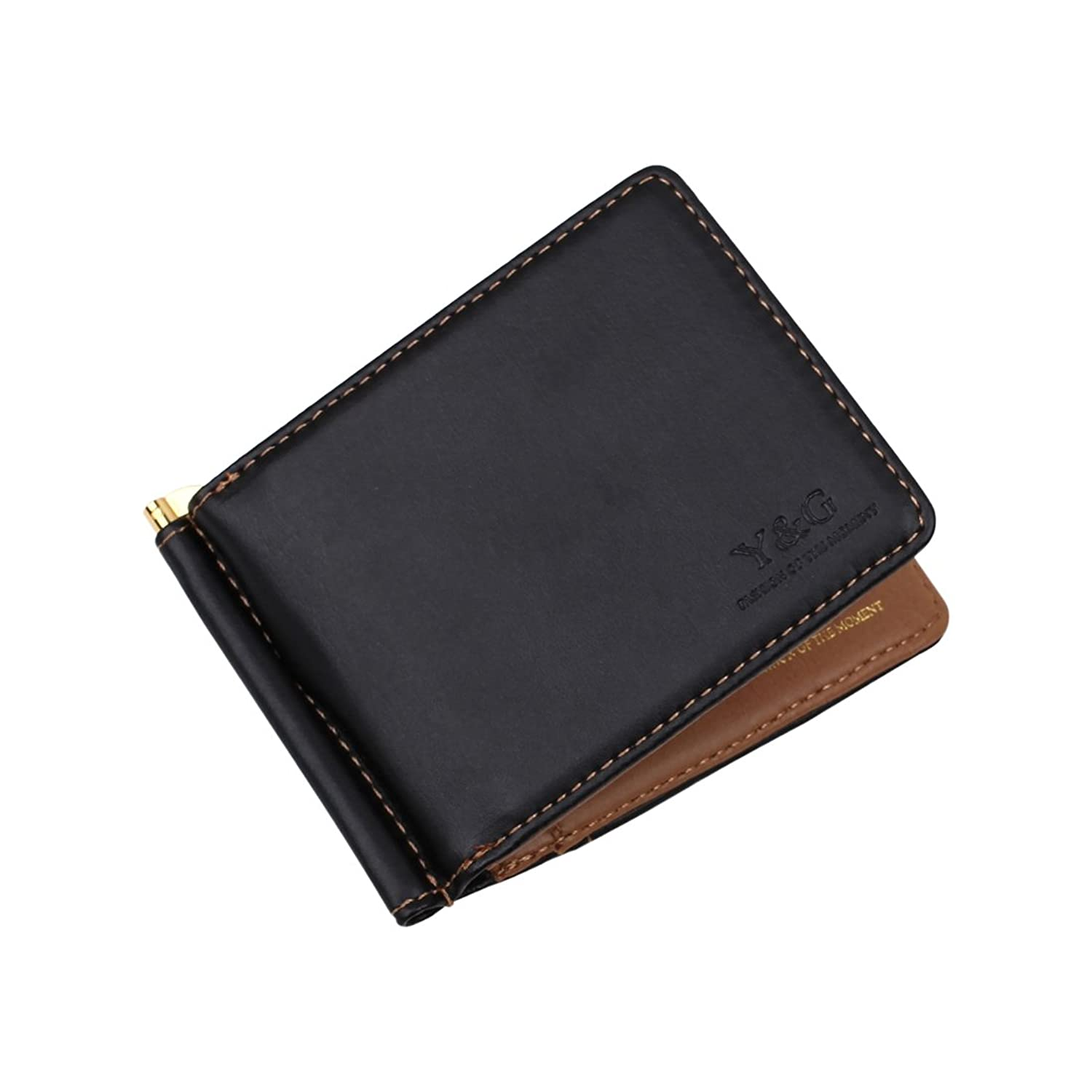 YCM16 Perfect Fashion Leather PU Money Clip Wallet Card Holder By Y&G
