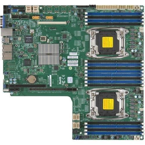 Super Micro Supermicro MBD-X10DDW-I-B E5-2600v3 LGA2011 C612 DDR4 SATA Proprietary WIO Motherboard Brown Box