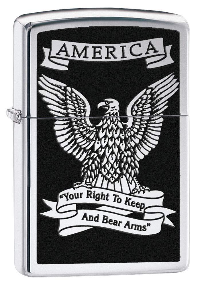 Zippo Second Amendment Eagle Lighter by Zippo