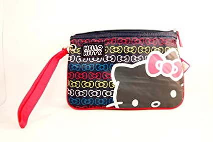 de08bee33 Image Unavailable. Image not available for. Color: Hello Kitty Utility Clutch  Wristlet Wallet