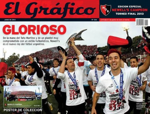 Glorioso Newell's Old Boys Campeon 2013