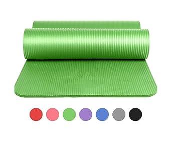 Ducomi Esterilla Yoga Antideslizante Extra Grosor - 183 x 61 ...