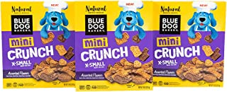 product image for Blue Dog Bakery Natural Dog Treats, Mini Crunch, Assorted Flavors, 18oz (3 Count)