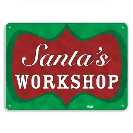 Image result for santa's workshop sign