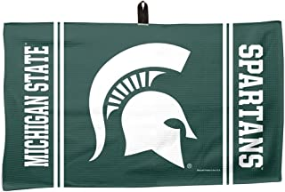 product image for Master Industries Michigan State Spartans Waffle Weave Towel